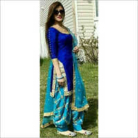 Party Wear Patiala Suit