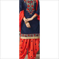 Ladies Casual Wear Patiala Suit