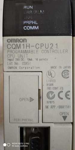 Omron  Programmable  Controller Cqm 1h-cpu 2 1