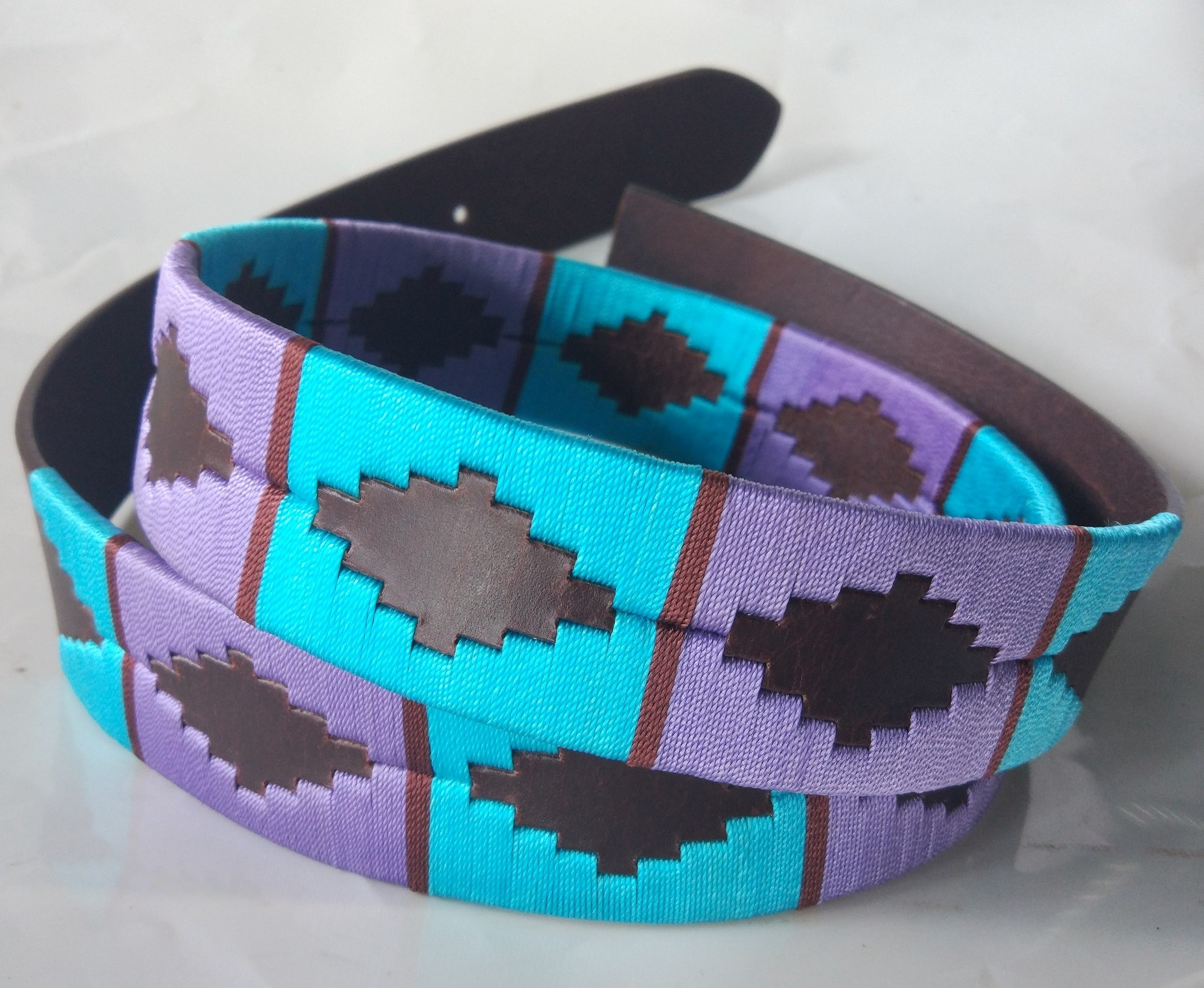 Argentinian weaved Polo Leather belts for mens.