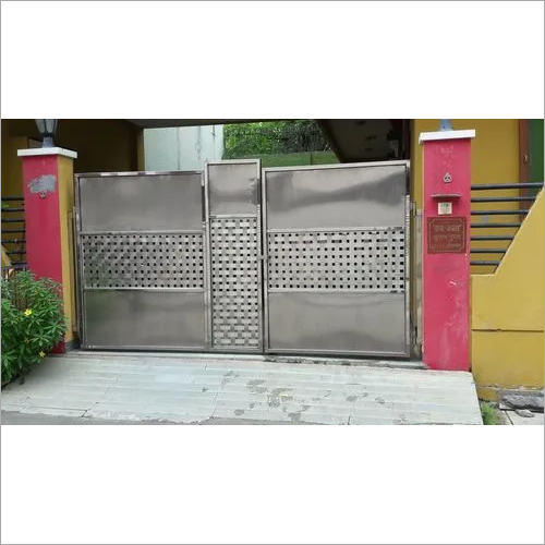 Stainless Steel Main Door Gate