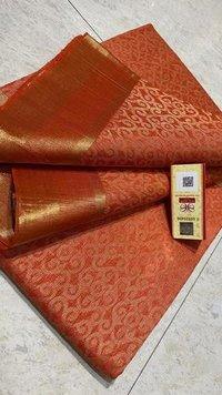 Pure Tussar (Kosa) Silk Handmade Full Jari Jala Saree