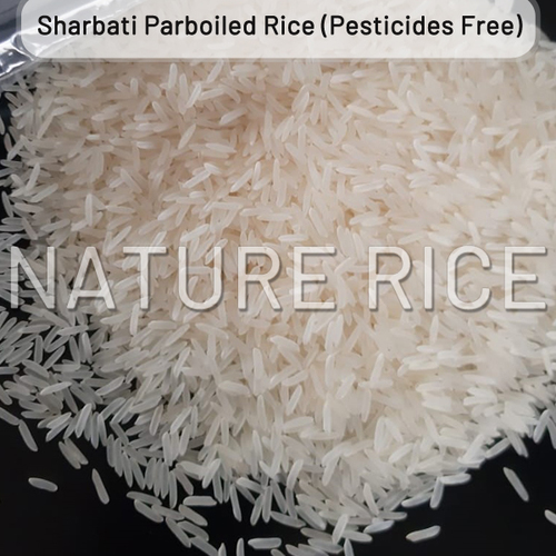 Organic Sharbati White Sella (Parboiled) Rice