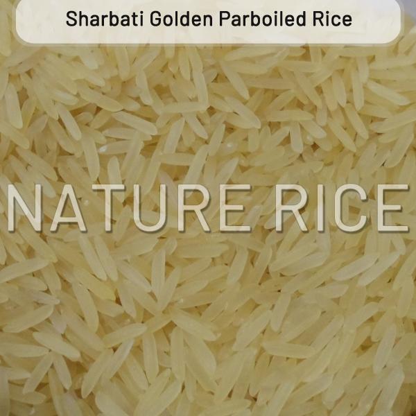 Organic Sharbati Golden Sella (Parboiled) Rice