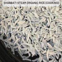 Organic Sharbati Steam Rice