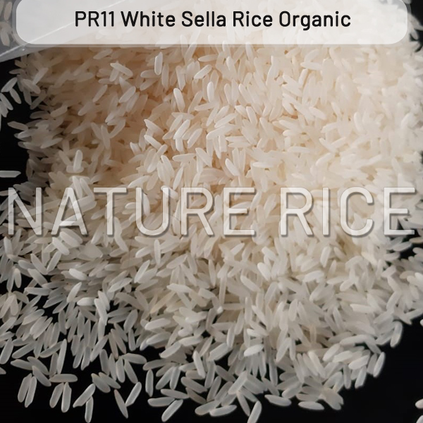 Organic PR11 White Sella (Parboiled) Rice
