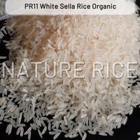 Organic PR11 White Sella (Parboiled) Rice