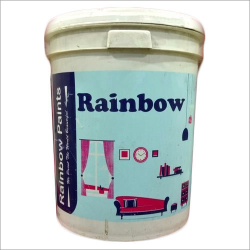 Rainbow Emulsion Application: Wall Paint