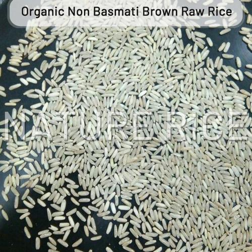 Organic Non Basmati Brown Raw Rice