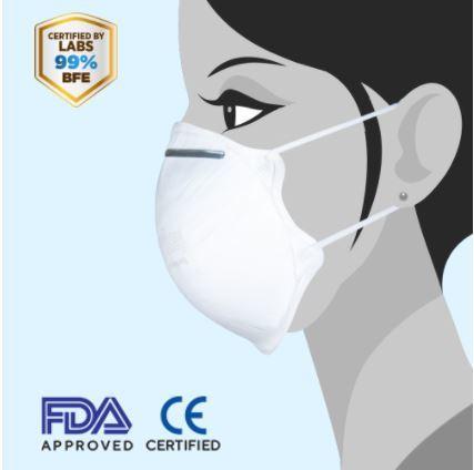 N99 (Ffp3/kn99) Cup Mask