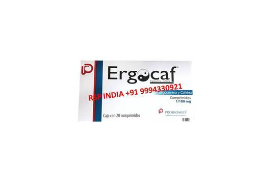 Ergocaf 1-100mg Tablets
