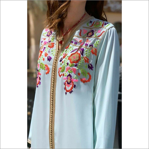 Ladies Designer House Wear Kaftans