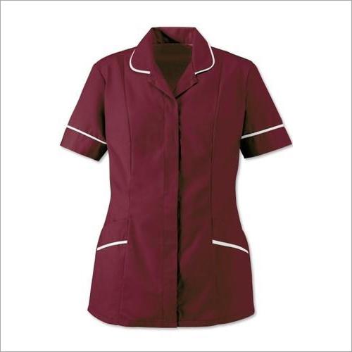 Maroon Nurse Uniform