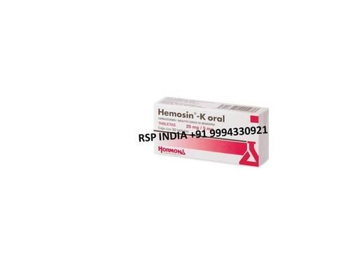Hemosin - K Oral Tablets 25mg-5mg