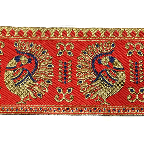 Textile Embroidered Border Lace