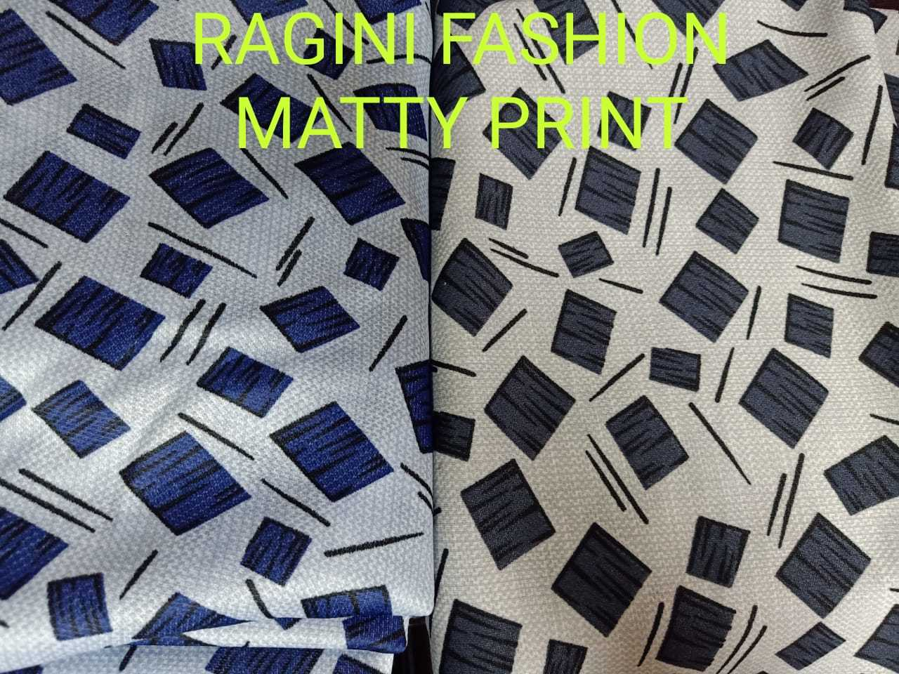 Exceptionally Soft Matty Printed Fabric