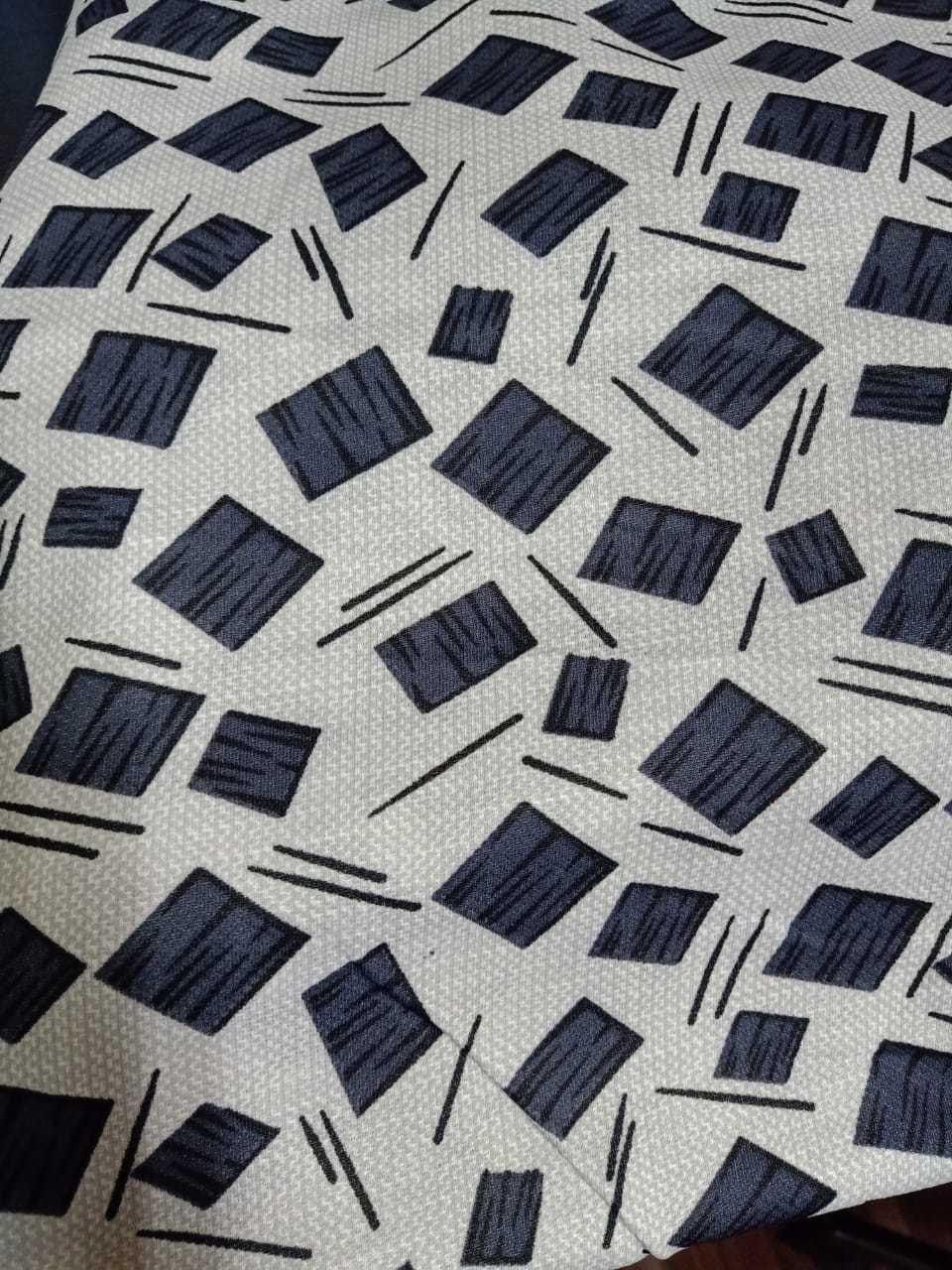 Soft Matty Printed Fabric