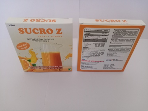 Energy Booster With Vitamin C Flavoured Drink
