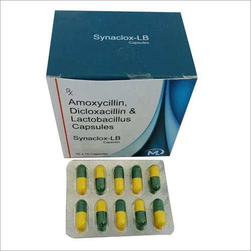 Amoxycillin Dicloxacillin and Lactobacillus Capsules
