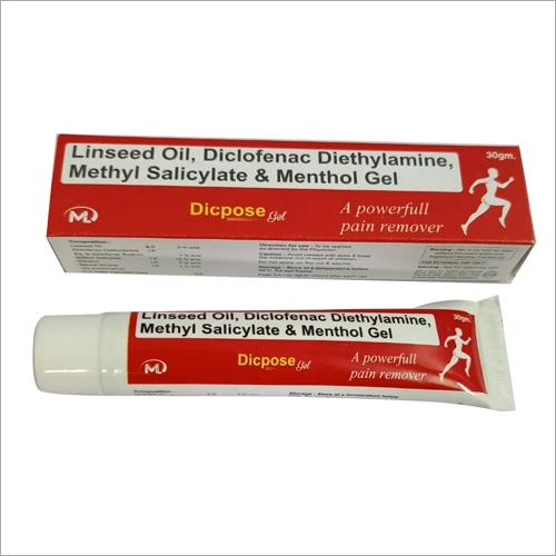 Diclofenac Linseed Oil Diethylamine Methyl Salicylate and Menthol Gel