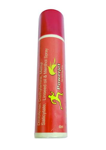 Diclofenac Diethylamine Methyl Salicylte Linseed Oil Menthol Spray 60ML