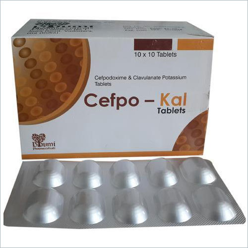 Cefpodoxime 200 Mg & Clavulanic Acid 125 Mg Tablets