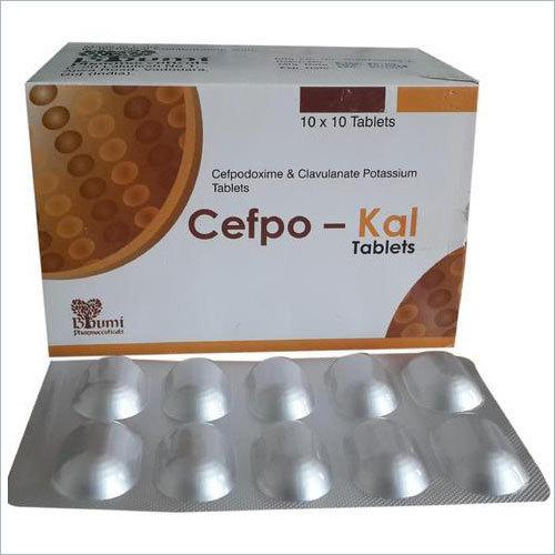 Cefpodoxime 200 Mg & Clavulanic Acid 125 Mg Tablets