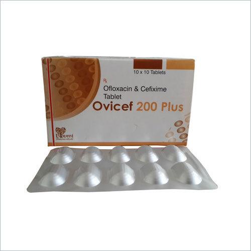 Cefixime 200 & Ofloxacin 200