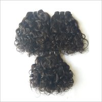 Untreated Temple Curly Human Hair