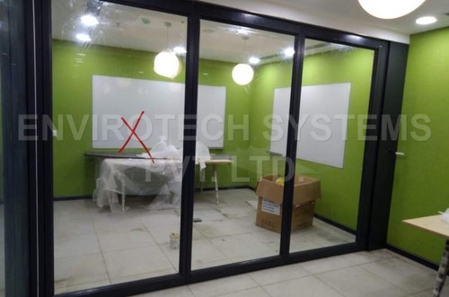 Glass Sliding Folding Partitions