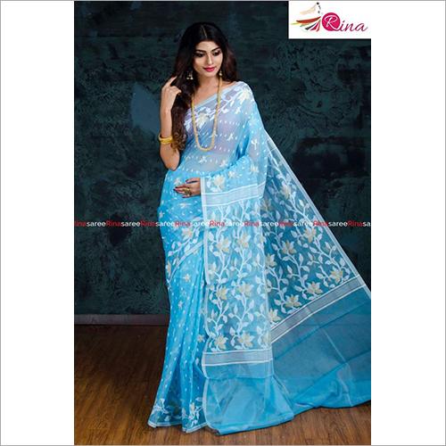 Ladies Soft Dhakay Jamdani Saree