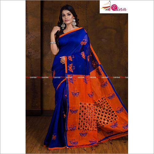 Ladies Printed Handloom Saree