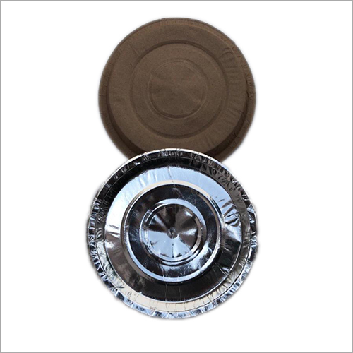 7 Inch Round Silver Paper Plate