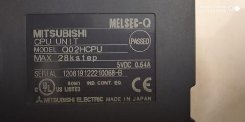 MITSUBISHI P. L. C  CPU UNIT  Q02HCPU