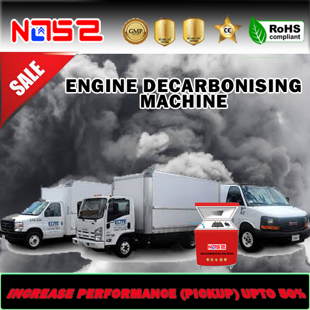 Bus Carbon Cleaning Machine