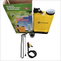 16 Ltr Electric And Manual 2 In 1 Knapsack Sprayer