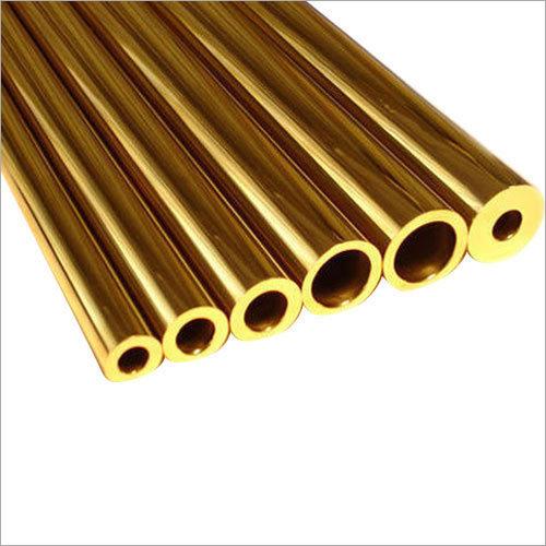 Industrial Brass Round Pipe