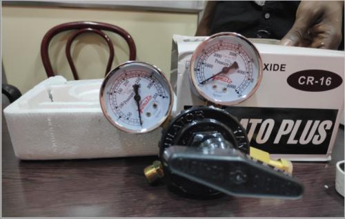 Mild Steel Medical Oxygen Flow meter