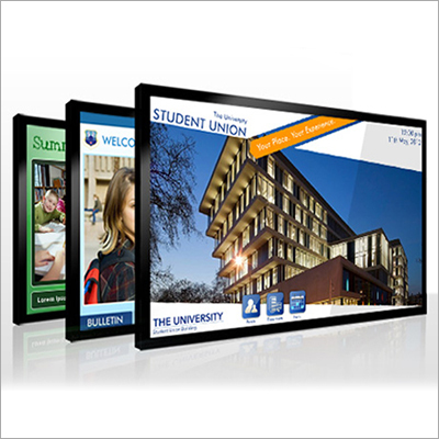 Education Sector Digital Signage Software Solutions Services