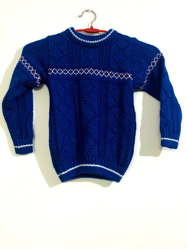 Blue Ready-made Pullover