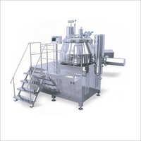 SS Rapid Mixer Granulator