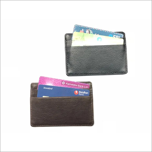 Pure Leather Credit Card Holder