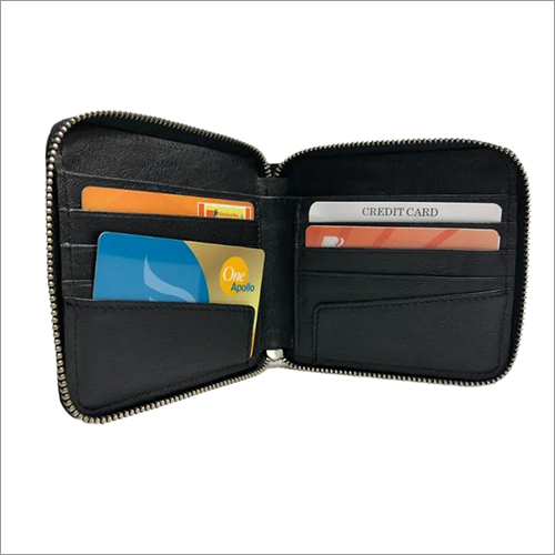Zippered Credit Card Holder