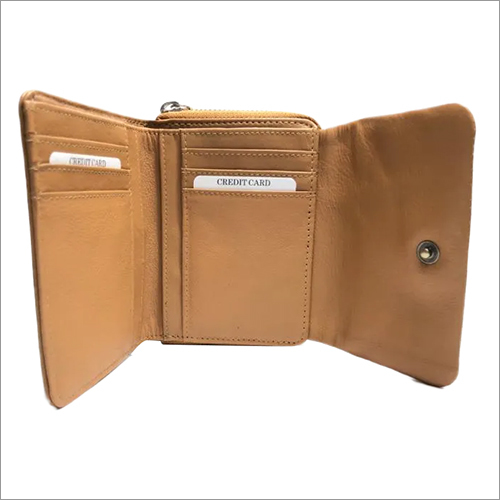Ladies Bifold Leather Wallet