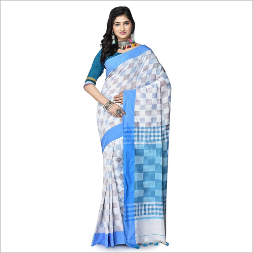 Ladies Fancy Cotton Print Saree