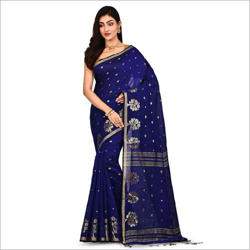 Ladies Fancy Handloom Cotton Silk Saree