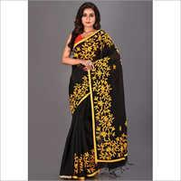 Ladies Handloom Embroidary Saree