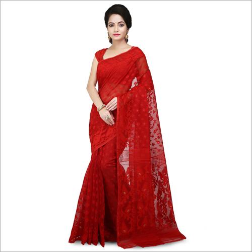 Ladies Fancy Dhakai Jamdani Saree