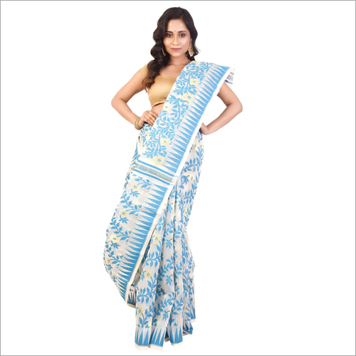 Ladies Designer Dhakai Jamdani Saree