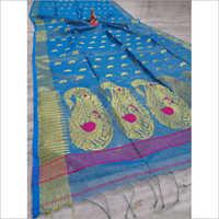 Ladies Handloom Tisu Silk Saree
